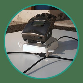 Bureautique, perforatrice à capteur optique